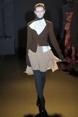Показ A.F. Vandevorst коллекции сезона Осень-зима 2011-2012 года Prêt-à-porter - www.elle.ru - Подиум - фото 249242