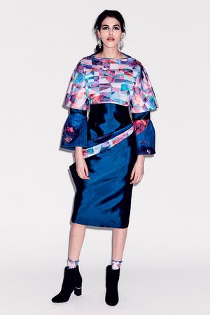 Показ Epson Digital Couture коллекции сезона Осень-зима 2017-2018 года prêt-à-porter - www.elle.ru - Подиум - фото 619130