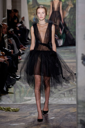Показ Valentino коллекции сезона Весна-лето 2014 года Haute couture - www.elle.ru - Подиум - фото 575255