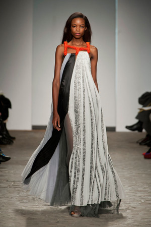 Показ Vionnet коллекции сезона Весна-лето 2014 года Haute couture - www.elle.ru - Подиум - фото 575049