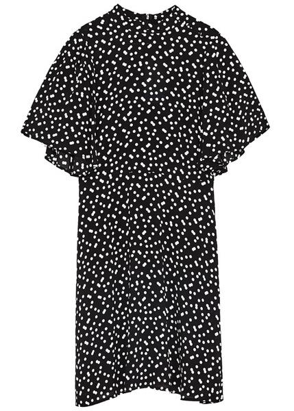 Платья в горошек: стильные горошки возвращаются в моду
