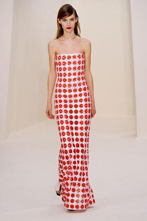 Показ Christian Dior коллекции сезона Весна-лето 2014 года Haute couture - www.elle.ru - Подиум - фото 574263