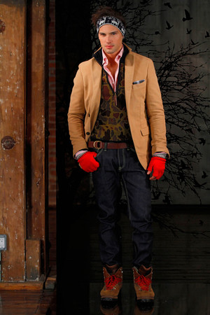 Показ Gant by Michael Bastian коллекции сезона Осень-зима 2011-2012 года prêt-à-porter - www.elle.ru - Подиум - фото 227399
