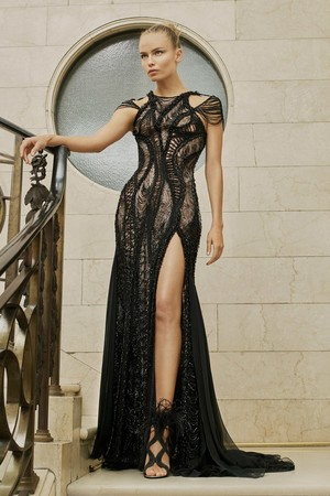 Показ Atelier Versace коллекции сезона Весна-лето  2017 года Haute couture - www.elle.ru - Подиум - фото 616881