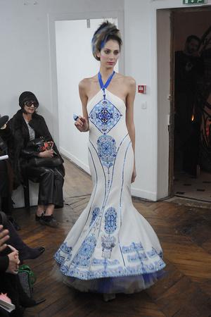 Показ On Aura Tout Vu коллекции сезона Весна-лето 2009 года haute couture - www.elle.ru - Подиум - фото 86889