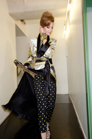 Показ Jean Paul Gaultier коллекции сезона Весна-лето 2012 года Haute couture - www.elle.ru - Подиум - фото 333458