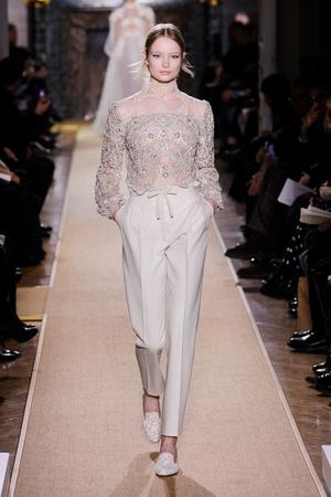 Показ Valentino коллекции сезона Весна-лето 2012 года Haute couture - www.elle.ru - Подиум - фото 332713