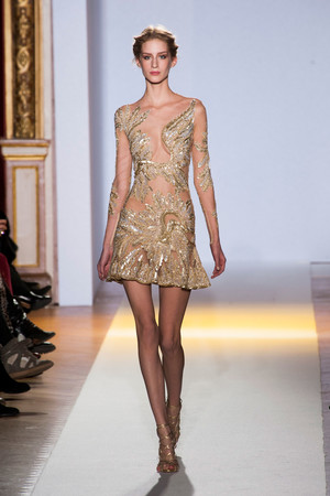 Показ Zuhair Murad коллекции сезона Весна-лето 2013 года Haute couture - www.elle.ru - Подиум - фото 480952