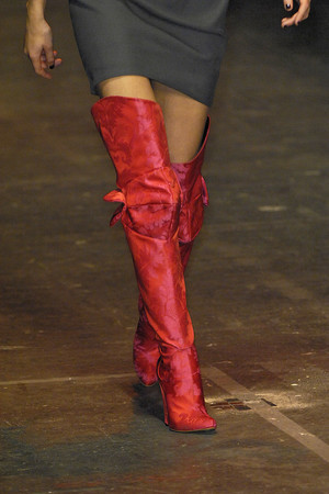 Показ Vivienne Westwood Red Label коллекции сезона Осень-зима 2009-2010 года Prêt-à-porter - www.elle.ru - Подиум - фото 94030