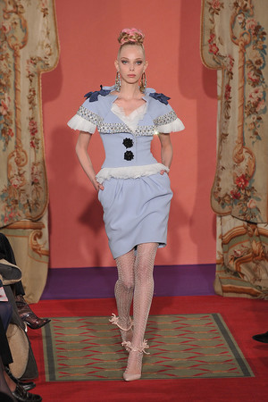 Показ Christian Lacroix коллекции сезона Весна-лето 2009 года haute couture - www.elle.ru - Подиум - фото 86477