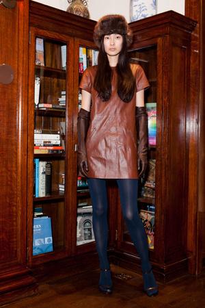 Показ Jenni Kayne коллекции сезона Осень-зима 2012-2013 года Prêt-à-porter - www.elle.ru - Подиум - фото 335888