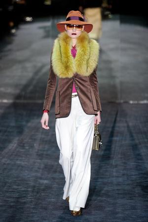 Показ Gucci коллекции сезона Осень-зима 2011-2012 года Prêt-à-porter - www.elle.ru - Подиум - фото 242783