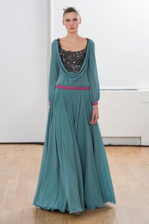 Показ Julien Fournie коллекции сезона Весна-лето 2014 года Haute couture - www.elle.ru - Подиум - фото 574964