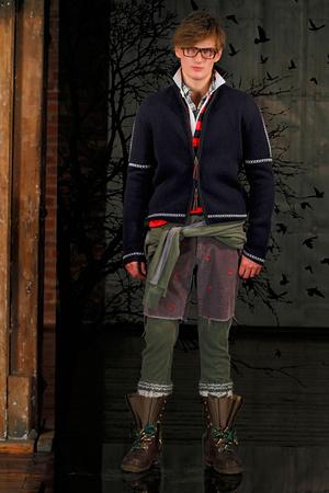 Показ Gant by Michael Bastian коллекции сезона Осень-зима 2011-2012 года prêt-à-porter - www.elle.ru - Подиум - фото 227405