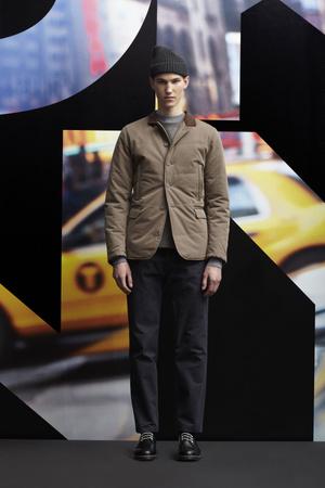 Показ DKNY Man коллекции сезона Осень-зима 2013-2014 года prêt-à-porter - www.elle.ru - Подиум - фото 484918