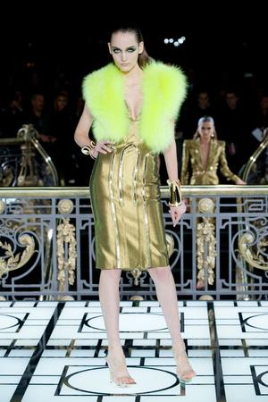 Показ Atelier Versace коллекции сезона Весна-лето 2013 года haute couture - www.elle.ru - Подиум - фото 476990