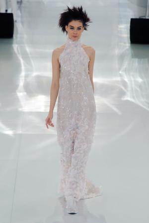 Показ Chanel коллекции сезона Весна-лето 2014 года haute couture - www.elle.ru - Подиум - фото 574491
