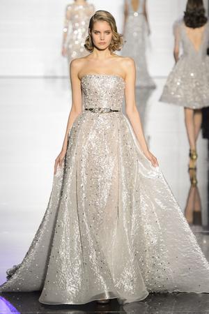 Показ Zuhair Murad коллекции сезона Весна-лето 2015 года Haute couture - www.elle.ru - Подиум - фото 593248