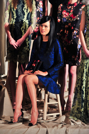 Показ Erin Fetherston коллекции сезона Осень-зима 2014-2015 года prêt-à-porter - www.elle.ru - Подиум - фото 575890