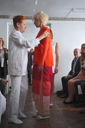 Показ Adeline Andre коллекции сезона Осень-зима 2009-2010 года Haute couture - www.elle.ru - Подиум - фото 87039