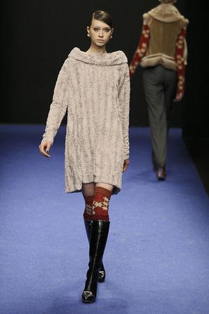 Показ Gaspard Yurkievich коллекции сезона Осень-зима 2009-2010 года prêt-à-porter - www.elle.ru - Подиум - фото 98236