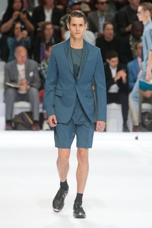 Показ Christian Dior коллекции сезона Весна-лето 2014 года Men prêt-à-porter - www.elle.ru - Подиум - фото 556719