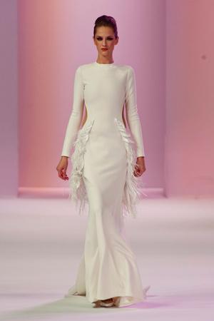 Показ Stephane Rolland коллекции сезона Весна-лето 2014 года Haute couture - www.elle.ru - Подиум - фото 575027