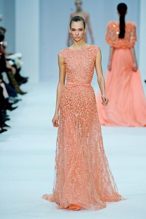 Показ Elie Saab коллекции сезона Весна-лето 2012 года haute couture - www.elle.ru - Подиум - фото 332672
