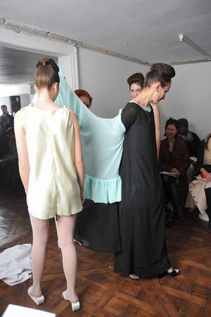 Показ Adeline Andre коллекции сезона Весна-лето 2009 года Haute couture - www.elle.ru - Подиум - фото 86152