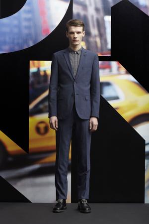 Показ DKNY Man коллекции сезона Осень-зима 2013-2014 года prêt-à-porter - www.elle.ru - Подиум - фото 484922