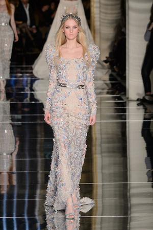 Показ Zuhair Murad коллекции сезона Весна-лето  2016 года haute couture - www.elle.ru - Подиум - фото 602985
