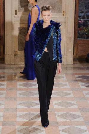 Показ Bouchra Jarrar коллекции сезона Весна-лето 2014 года haute couture - www.elle.ru - Подиум - фото 574681
