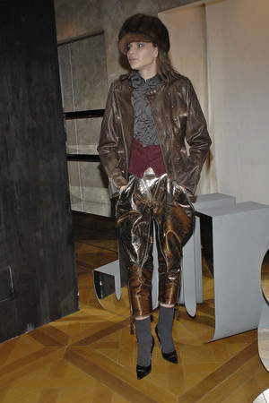 Показ Just Cavalli коллекции сезона Осень-зима 2009-2010 года Prêt-à-porter - www.elle.ru - Подиум - фото 96037