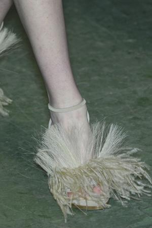 Показ Givenchy коллекции сезона Осень-зима 2009-2010 года prêt-à-porter - www.elle.ru - Подиум - фото 98389
