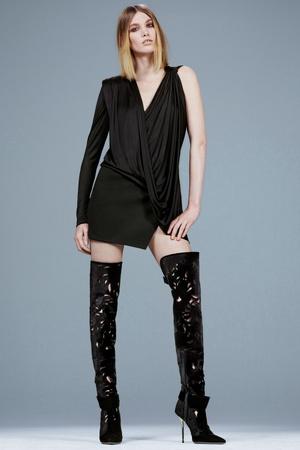 Показ Versace коллекции сезона Pre-fall   2014 года Prêt-à-porter - www.elle.ru - Подиум - фото 573402