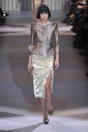 Показ Giorgio Armani Privé коллекции сезона Весна-лето 2009 года Haute couture - www.elle.ru - Подиум - фото 86753