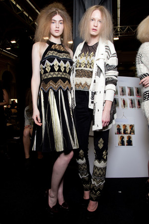 Показ Fashion East коллекции сезона Осень-зима 2012-2013 года Prêt-à-porter - www.elle.ru - Подиум - фото 357404