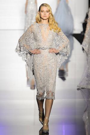 Показ Zuhair Murad коллекции сезона Весна-лето 2015 года haute couture - www.elle.ru - Подиум - фото 593247