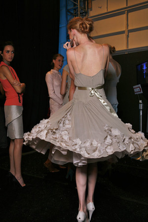 Показ Tracy Reese коллекции сезона Весна-лето 2009 года Prêt-à-porter - www.elle.ru - Подиум - фото 76448