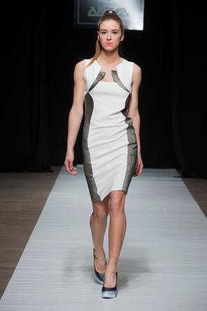Показ Maison Anoufa коллекции сезона Весна-лето 2014 года Haute couture - www.elle.ru - Подиум - фото 574333