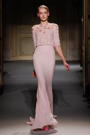 Показ Georges Hobeika коллекции сезона Весна-лето 2013 года Haute couture - www.elle.ru - Подиум - фото 477521
