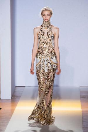 Показ Zuhair Murad коллекции сезона Весна-лето 2013 года Haute couture - www.elle.ru - Подиум - фото 480958