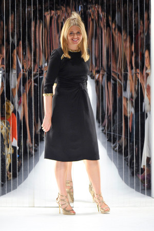 Показ Jenny Packham коллекции сезона Весна-лето 2013 года prêt-à-porter - www.elle.ru - Подиум - фото 424918