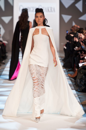 Показ Georges Chakra коллекции сезона Весна-лето 2013 года Haute couture - www.elle.ru - Подиум - фото 480705