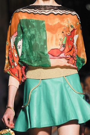 Показ Tsumori Chisato коллекции сезона Весна-лето 2013 года Prêt-à-porter - www.elle.ru - Подиум - фото 458929
