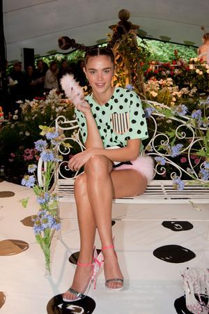 Показ Sophia Webster коллекции сезона Весна-лето 2014 года prêt-à-porter - www.elle.ru - Подиум - фото 563795