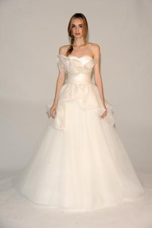 Показ Marchesa коллекции сезона Осень 2014 года Bridal - www.elle.ru - Подиум - фото 575609
