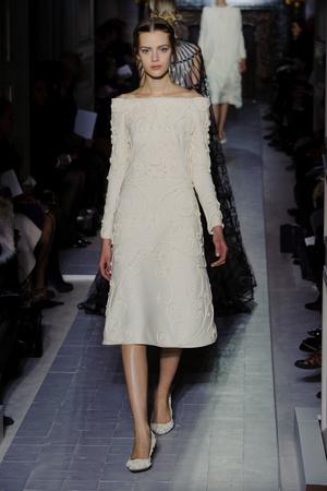 Показ Valentino коллекции сезона Весна-лето 2013 года Haute couture - www.elle.ru - Подиум - фото 480762