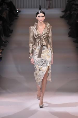 Показ Giorgio Armani Privé коллекции сезона Весна-лето 2009 года Haute couture - www.elle.ru - Подиум - фото 86754