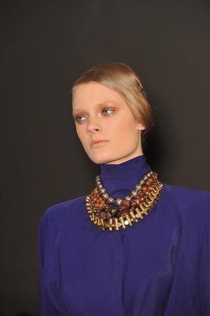 Показ Donna Karan коллекции сезона Осень-зима 2009-2010 года prêt-à-porter - www.elle.ru - Подиум - фото 90100